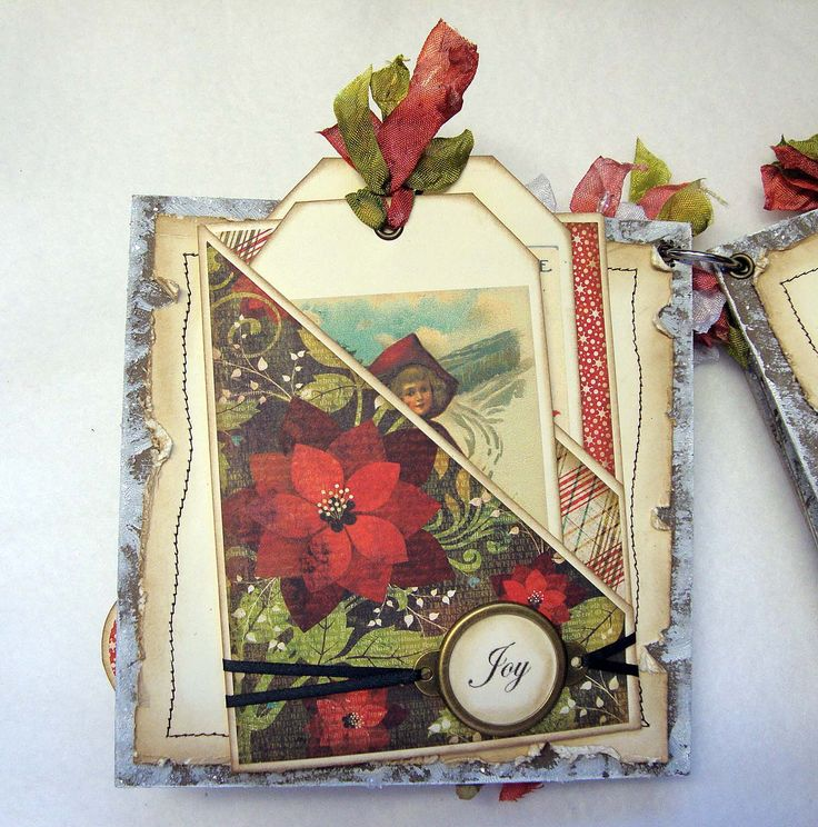 cute pockets - I Wanna Build a Memory: Card Makers Christmas Mini Album