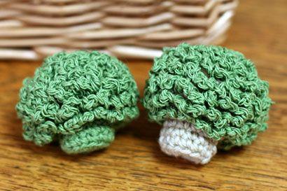 ままごとブロッコリー_かぎ針編み