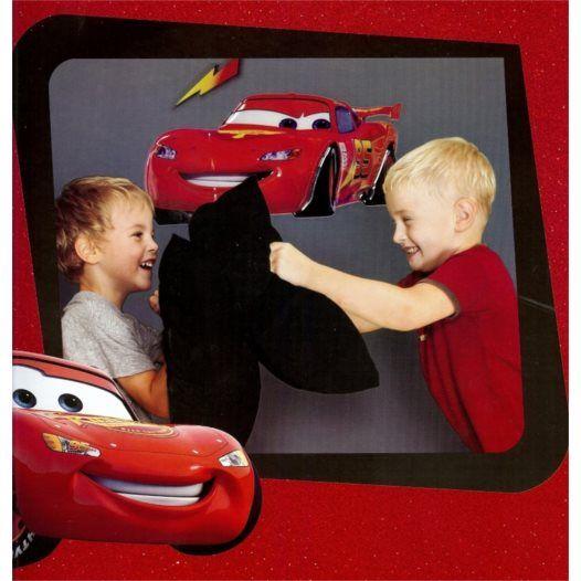 Disney - Cars/Bilar 3D Väggdekal Xl