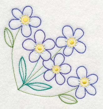 Charmoso Forget-Me-Not Canto (Vintage)