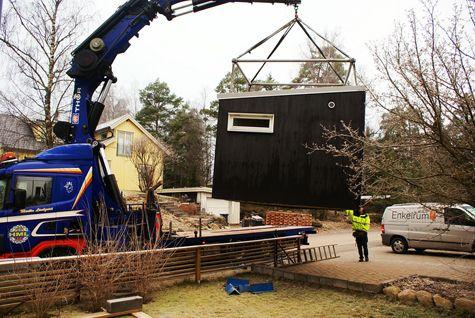 Vi byggde ett litet lusthus! - viivilla.se