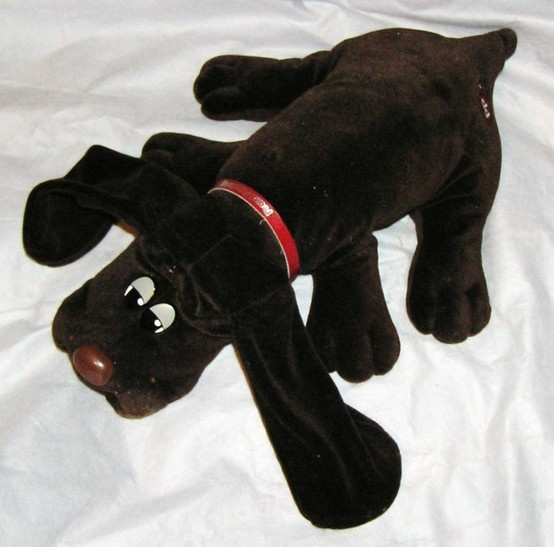 pound puppies. My sisters used to kidnap mine and write