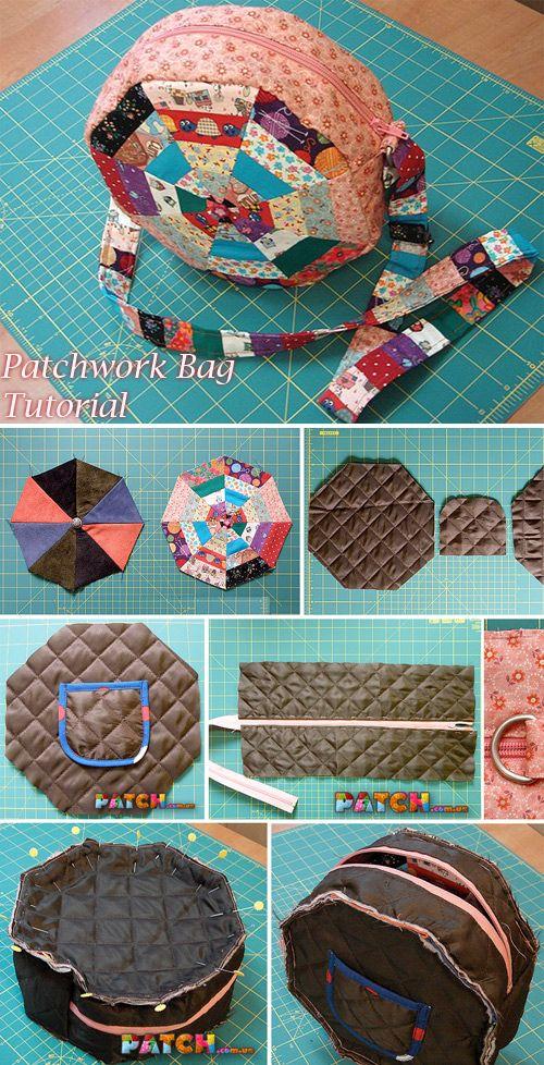 Patchwork Bag Tutorial – handmadiya