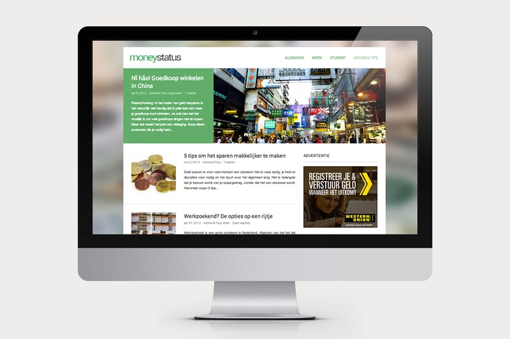 Moneystatus is een #blog over financiën. De #inhoud is variërend van ernstige financiële problemen tot humoristische getinte artikelen. De #website is voornamelijk gemaakt om lezers te voorzien van de basisprincipes van persoonlijke financiën.