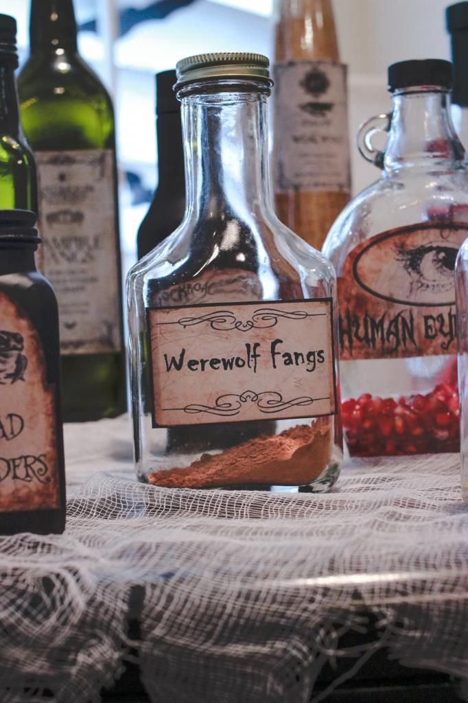 3rd Annual Halloween Party! | Halloween potions, Diy ...
