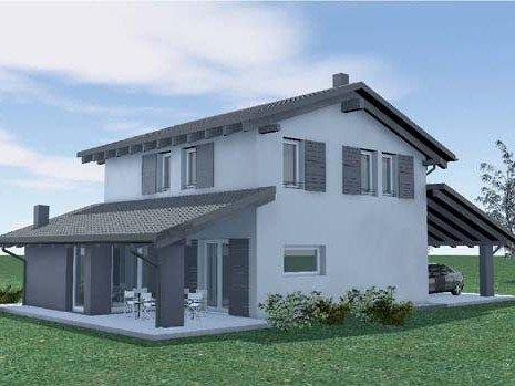 Casa in legno DESEO MODERN by BIOHAUS