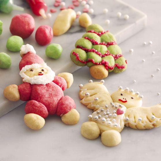 Sjove julekager, jul, dansukker, juleri med børnene, kage, inspiration, opskrift, christmas