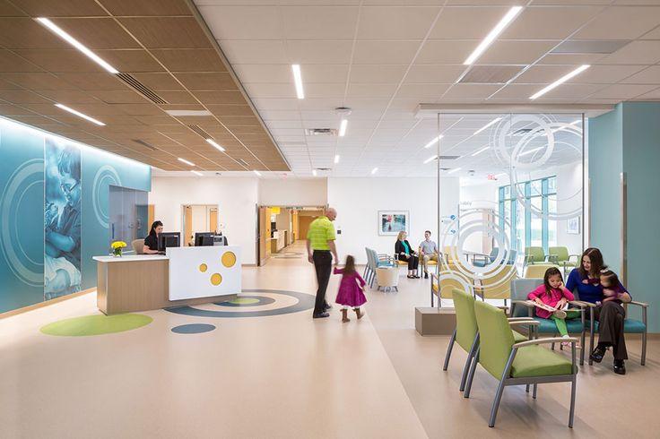 Akron children 39 s hospital kay jewelers pavilion ed lobby - Sheffield school of interior design ...