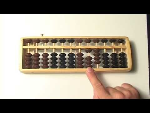 Abacus Lesson 4 //Simple Addition (#'s 0-5 only) TEN'S column // Step by Step // Tutorial - YouTube