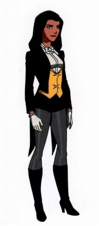 "Zatanna - ""Young Justice"" love this version much better"