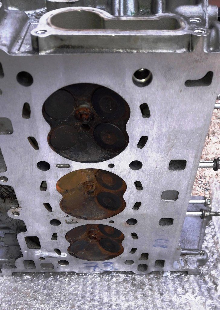 Ford Fiesta Focus 1 0 Ecoboost Engine Cylinder Head P8cm5g 6090 M1da Ford Fiesta Cylinder Head Ford