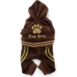 Posh Puppy Boutique is a shop for designer dog clothes and accessories - Top Dog Jumper    puppy Apparel - Outfits & Tracksuits, pet toys, collars, luxurious carriers, treats, stunning bowls, diaper, belly bands, fancy id tags, harnesses, unique apparel