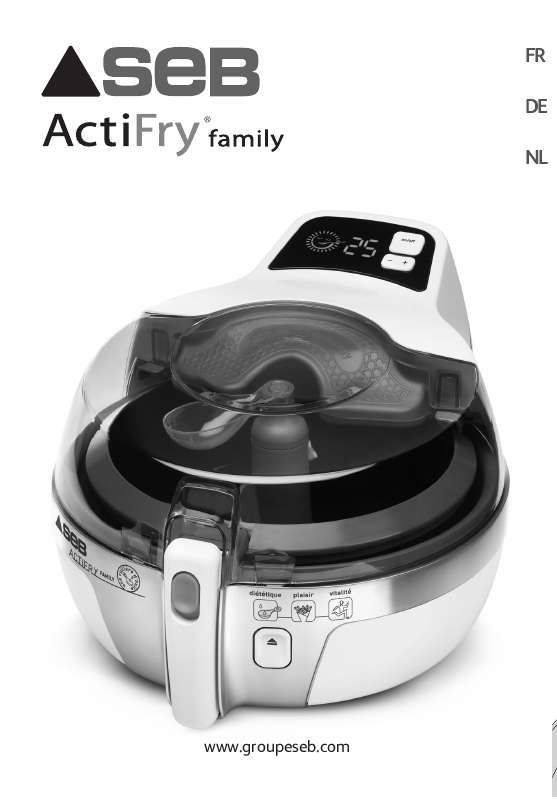 Mode d'emploi  SEB AH9000 ACTIFRY FAMILY -  Trouver une solution à un problème SEB AH9000 ACTIFRY FAMILY notice SEB AH9000 ACTIFRY FAMILY Français