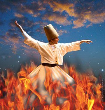 Rumi...sufi dancers