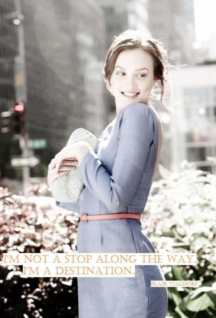 9 #citations très mémorables de Blair Waldorf...