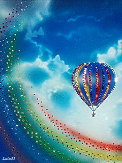 'I had a dream I jumped so high that I fell down upon the sky, on a cloud to thick to stand, I slid on colors of a rainbow strand.' Wishing everyone beautiful, rainbow-infused dreams that awaken to reality.' Love & blessings, Grace <3<3