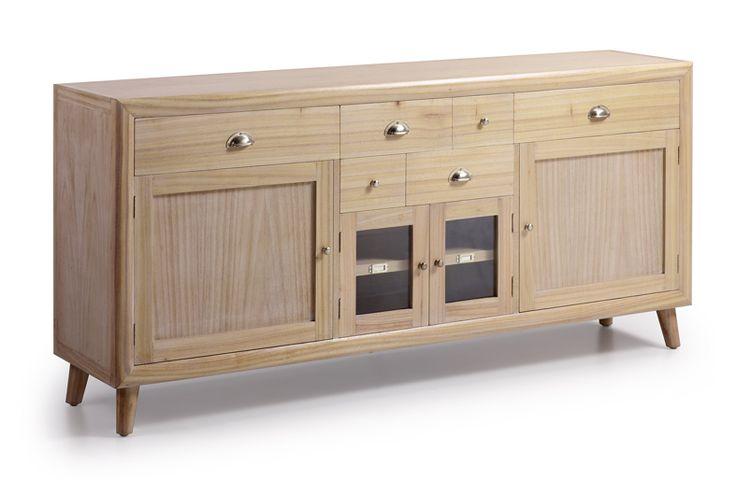 Muebles buffet de madera BROMO. Aparadores coloniales.