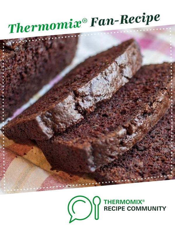 Chocolate Zucchini Bread (Gluten Free) by The Naked Baker. A Thermomix <sup>®</sup> recipe in the category Baking - sweet on www.recipecommunity.com.au, the Thermomix <sup>®</sup> Community.