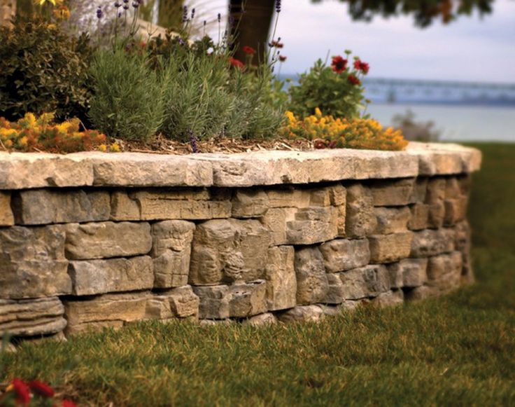 Decorative Stone Walls 124 best natural stone retaining walls images on pinterest