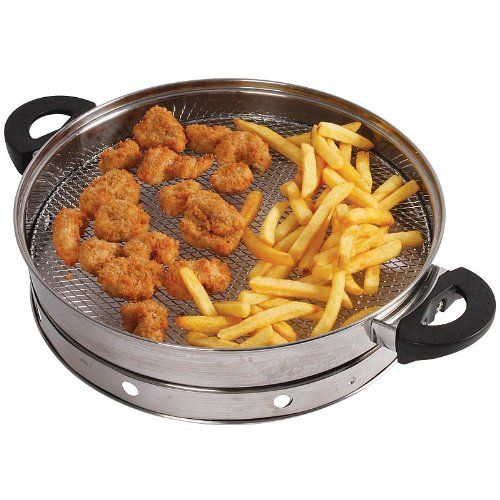 VonShef Halogen Air Fry Accessory Suitable for any 12 Litre Halogen Ovens VonShef http://www.amazon.co.uk/dp/B00D1VHRAQ/ref=cm_sw_r_pi_dp_SGYRtb1EBS94YEPJ £19.99 healthy frying 4.5 stars from Amazon.co.uk
