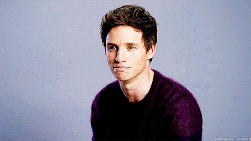 """hardyness: """"Fantastic Beasts and Where to Find Them Cast → Eddie Redmayne's eyes looking at your soul. """""""