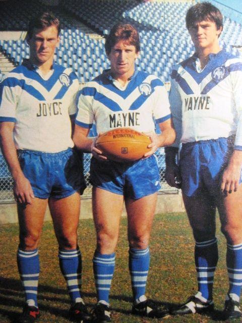 Peter, Steve and Chris Mortimer - Australian Footballers