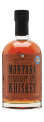 Straight Rye. A 100% rye grain whiskey from Montana distillery, Roughstock. Their Straight Rye is classically spicy and drying, with sweeter notes of toffee and vanilla giving it balance. A top choice for classic whiskey-based cocktails.