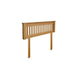 Canterbury Solid Oak MNH50 4FT 6IN (Double) Headboard www.easyfurn.co.uk