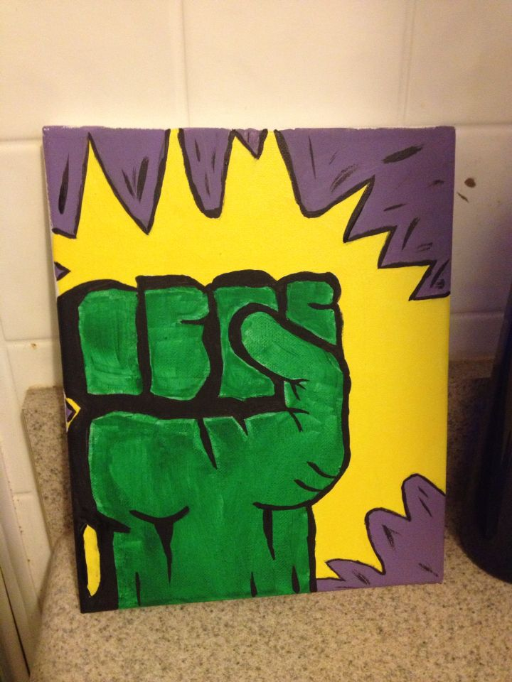Hulk Canvas