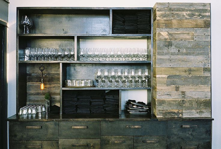 server station - PROJECT SUNDAY // HAND MADE IN THE USA: Restaurant Details, Coff Server, Hands Made, Restaurant Interiors, Sunday Bar, Restaurant Ideas, Wine Credenzas, Projects Sunday, Server Stations
