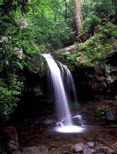 Grotto Falls, Gatlinburg, TN