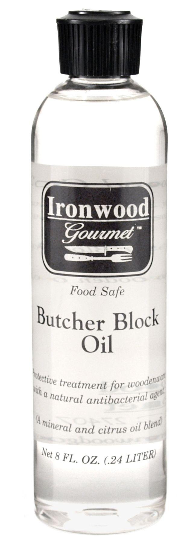 Ironwood Gourmet Antibacterial Butcher Block Oil