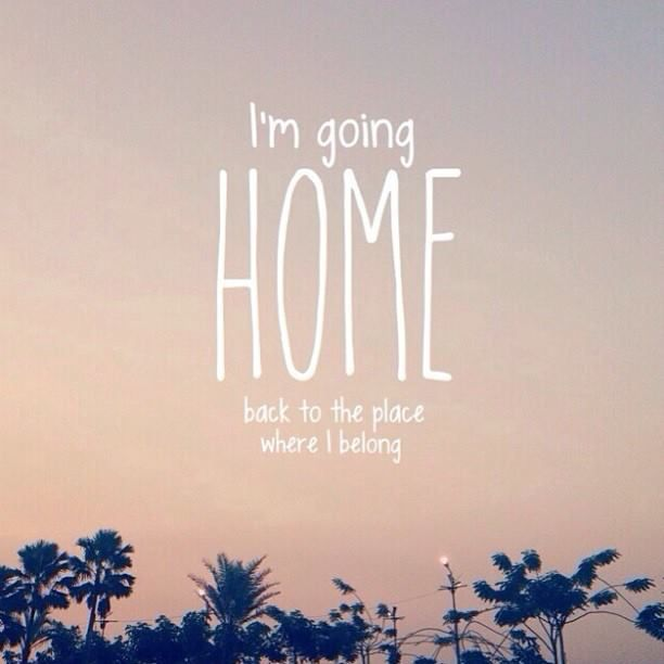 """Home"" by Daughtry  Amen home is where the heart is I have been told therefore I go"