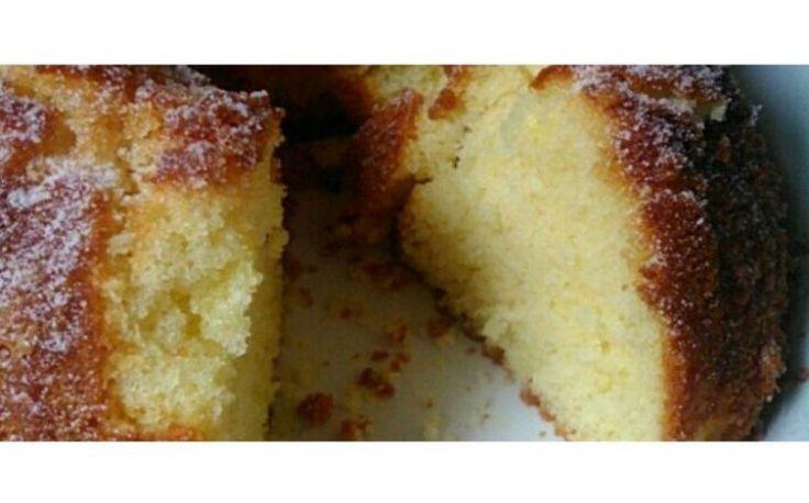 Bolo de manteiga fofinho fácil e rápido | Sobremesas de Portugal