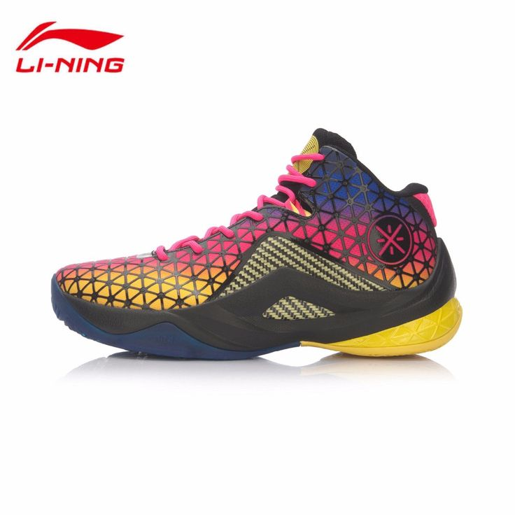 Li-Ning 2017 Shoes Men's Basketball Shoes Wade Team 4 Damping Wear-resisting Professional Game Shoes Sneakers Sports ABAM011