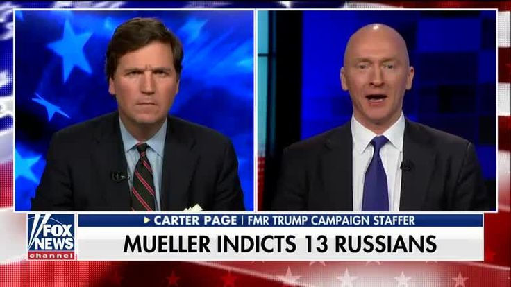 Carter Page reacts to Russia meddling indictments