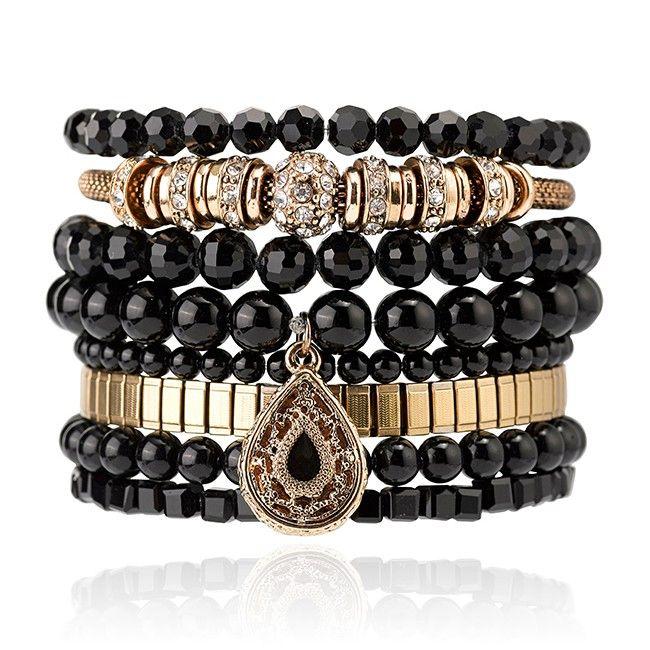 Samantha Wills - Lost In Your Love Bracelet Set - Black