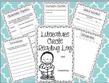 17 best ideas about Literature Circles on Pinterest   Literacy ...