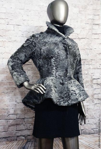 Верхняя одежда ручной работы. Ярмарка Мастеров - ручная работа. Купить Жакет из каракуля swakara. Handmade. Шуба, каракуль свакара
