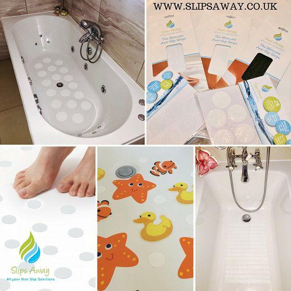 stylish non slip anti skid bath shower mat safety strong