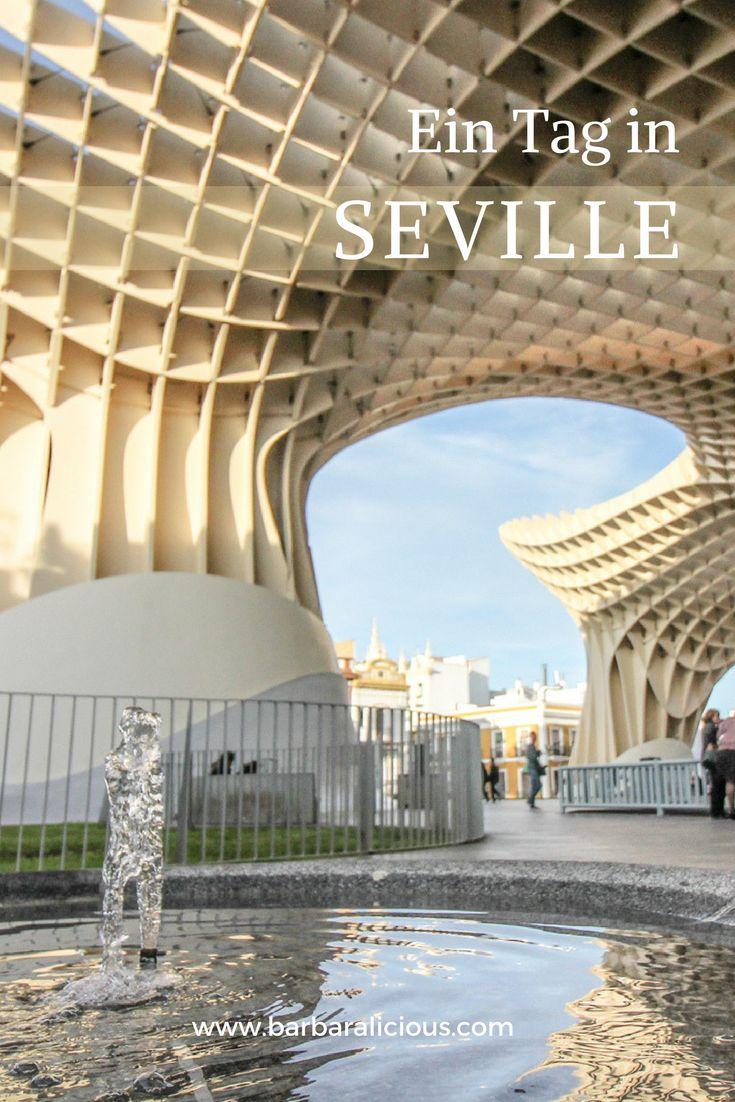 Was du an nur einem Tag in Sevilla machen kannst? Ich sag's dir! Begleite mich in die wunderschöne andalusische Stadt!