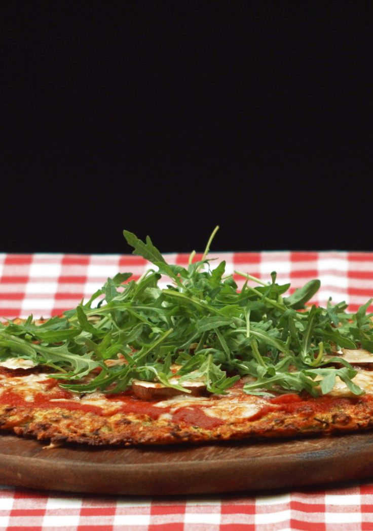 Zucchini-Pizzaboden Low Carb