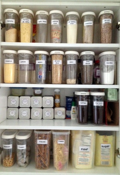 Pantry Cabinet  Ikea Container $2.99 I Need These