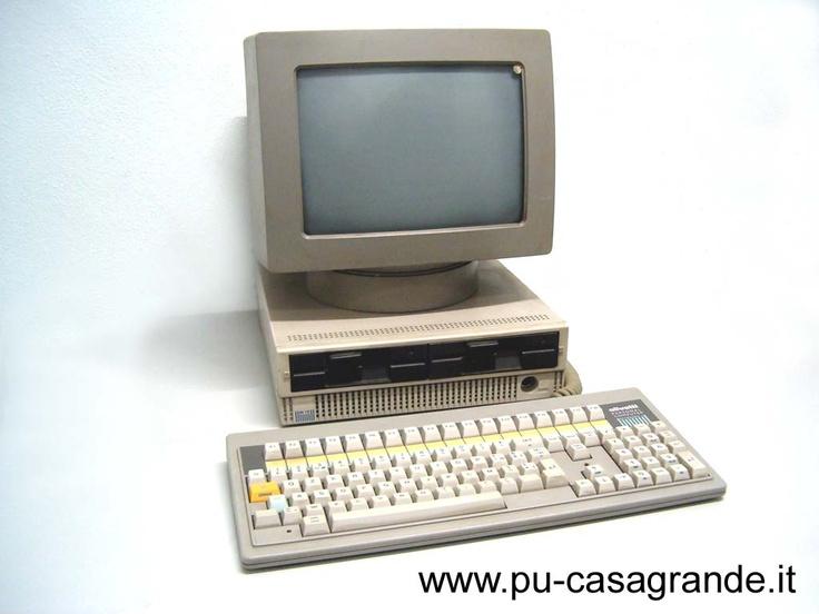 Olivetti M-19. El meu primer PC. 20 MB de disc dur, Wooo!