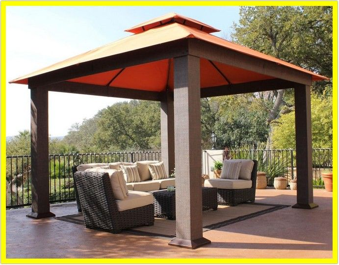 121 Reference Of Outdoor Patio Gazebos Lowes In 2020 Backyard Gazebo Modern Gazebo Patio Gazebo