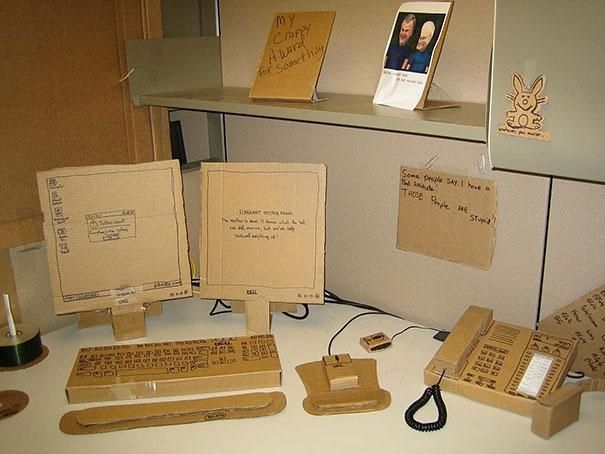 """Chciałoby się czasami """"popracować"""" przy takim biurku... ;)"""