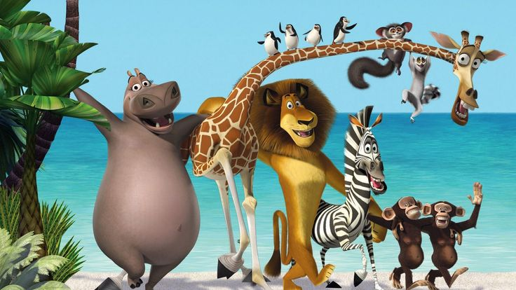 Madagascar Cartoon Wallpaper