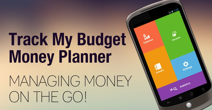"""""""Track My Budget - #Money Planner"""" - Managing money on the go - #Android Apps  https://play.google.com/store/apps/details?id=com.mobyi.trackmybudget.moneyplanner&hl=en"""
