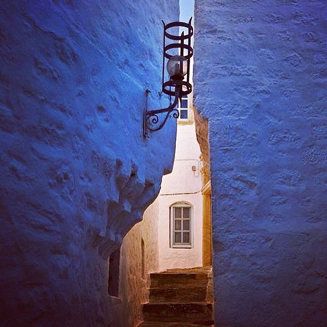 In the middle of Chora! #Patmos ilsand, #VarietyCruises Photo credits: @thomas_ypsilantis