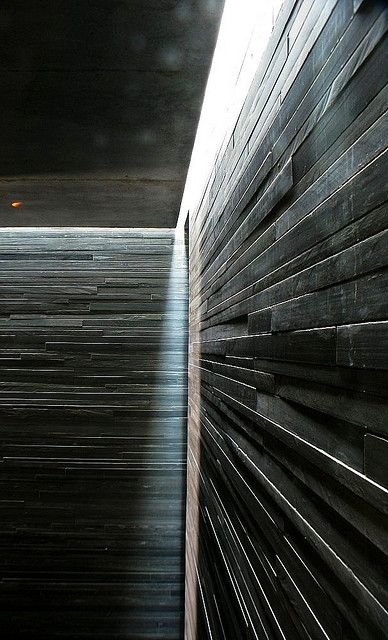 ARCHITECTURE |  DETAILS | Photo Credit: Unknown. (please let me know orignal source so that I can include appropriate credit) Adore the work of #PeterZumthor. Visiting this place in person trully changed my life, a whole new born appreciation for attention to #details.